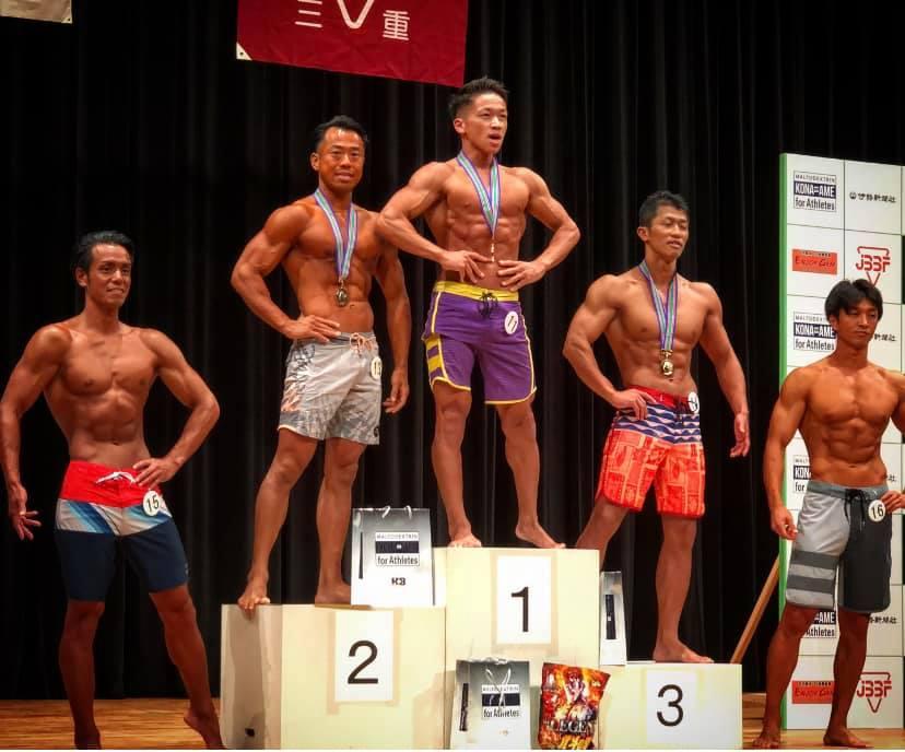 にしだっくす 7/13 JBBF三重県メンズフィジークにて初優勝