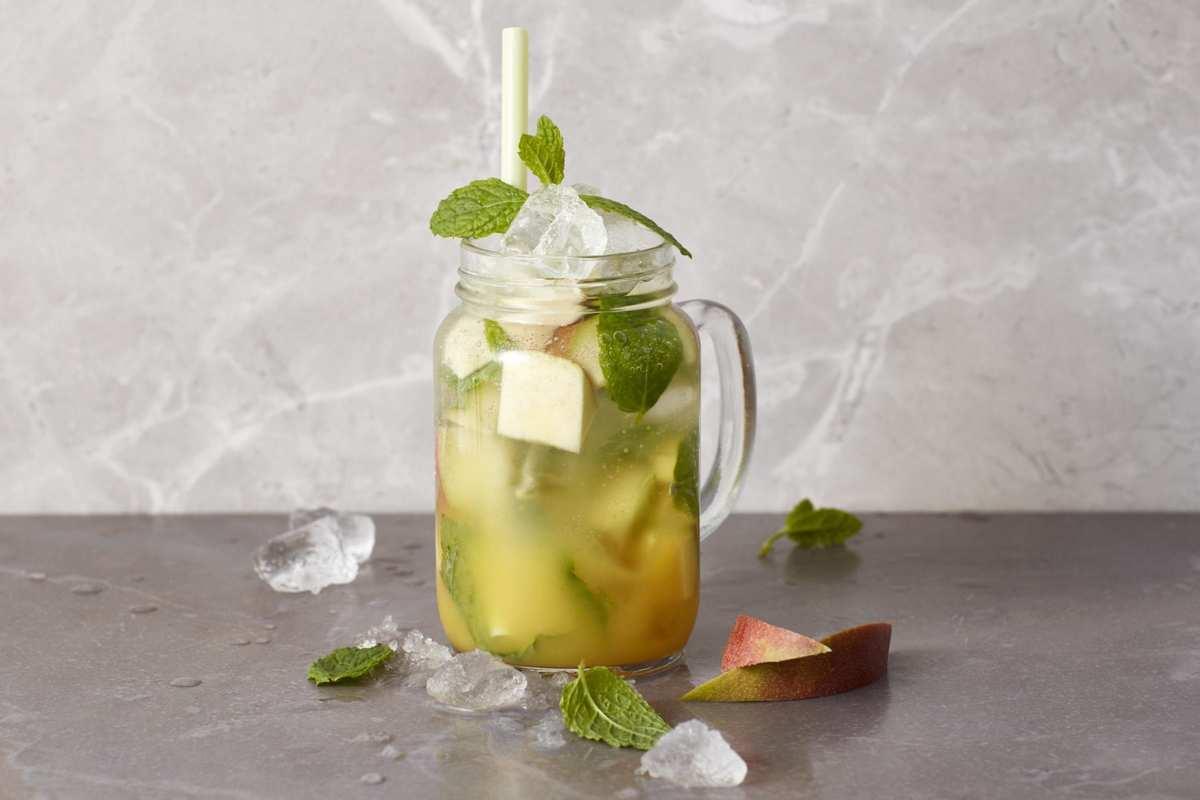 ピーチマンゴーBCAAモヒート アレンジレシピ|ノンアルコールで楽しめるカクテル