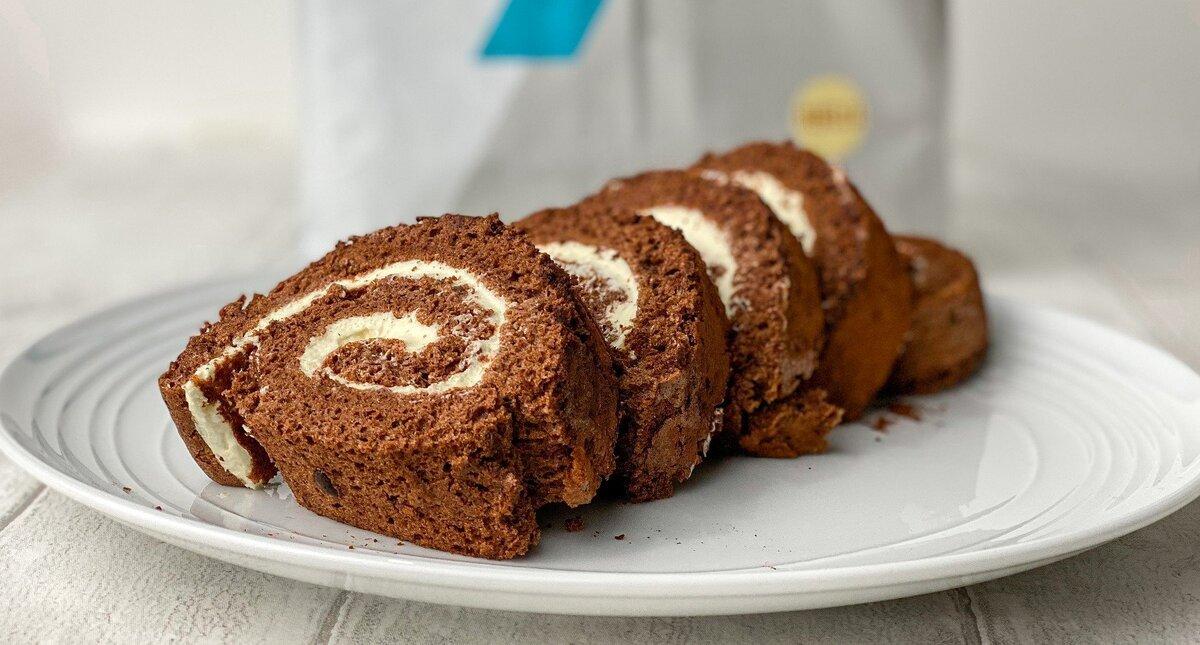 プロテインでチョコレートロールケーキ!材料はたったの6つ|トレーニーにぴったりバレンタインレシピ