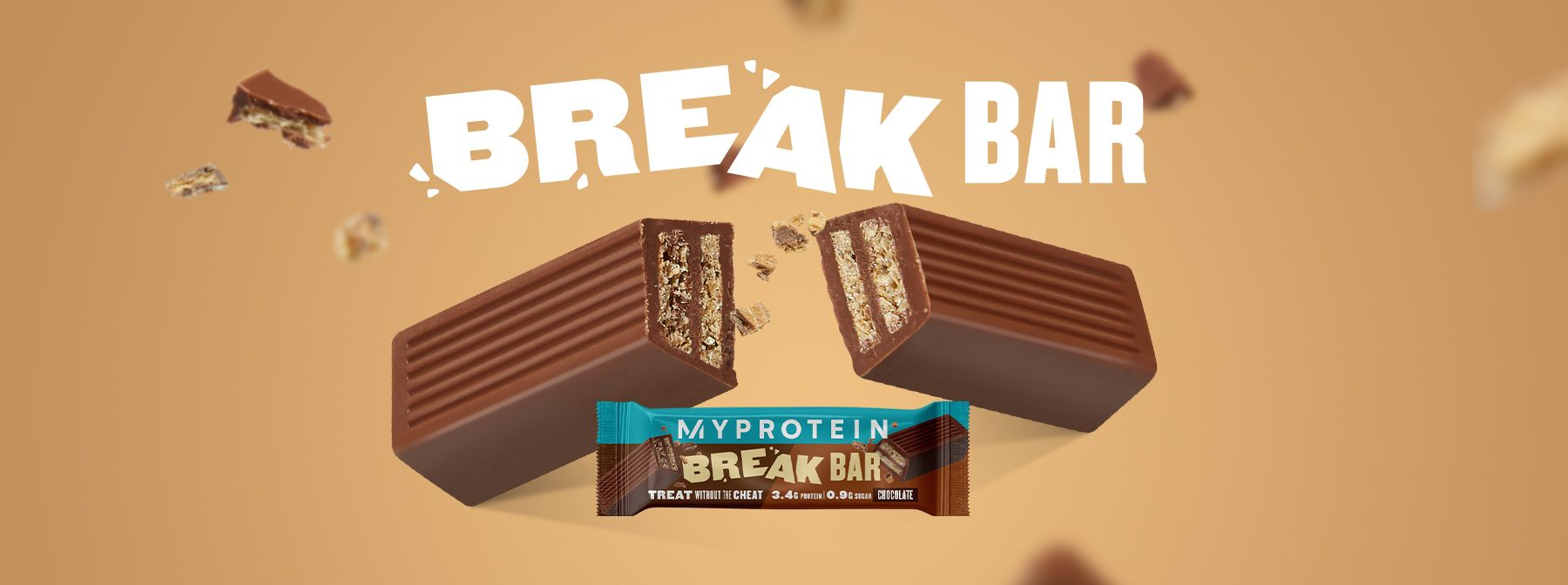 Uusi välipalapatukkamme The Break Bar | Proteiinipatukat