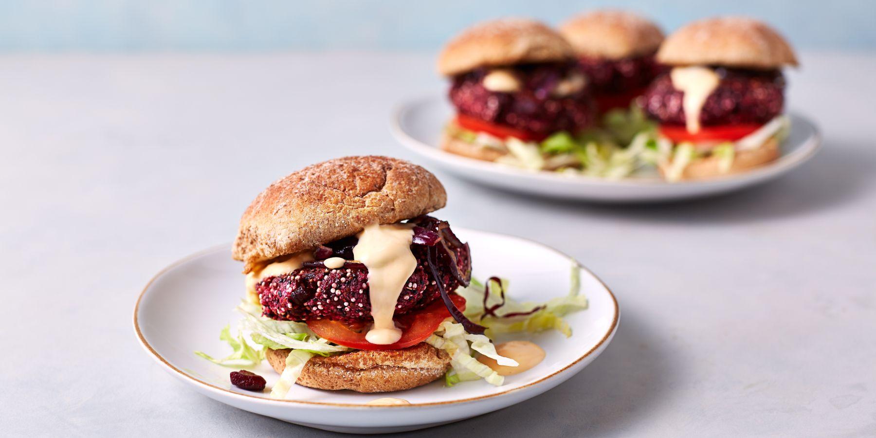 Punajuuripihvi ja herkullinen hampurilaisresepti | Ruokaohjeet