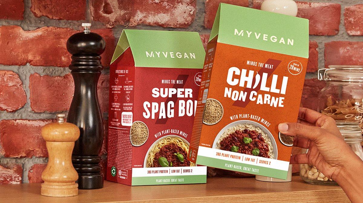 Vegaanit ateriapakkaukset tekevät elämästäsi 10x  helpompaa