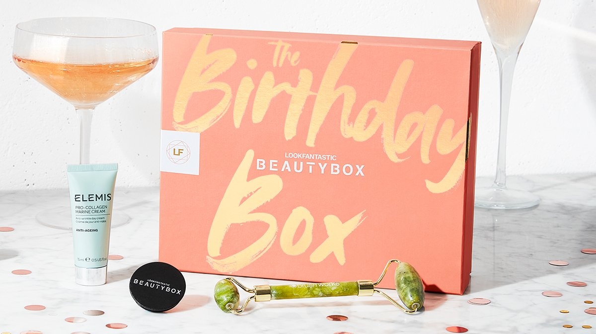 What's Inside Our Birthday Beauty Box!