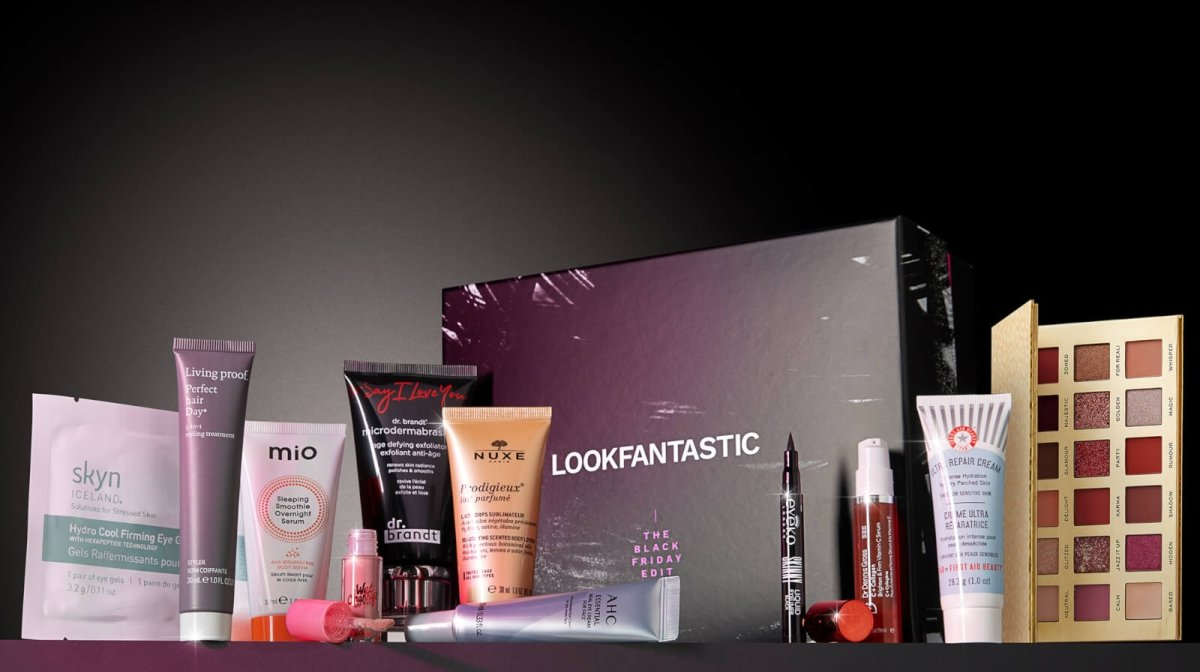 Our Exclusive LOOKFANTASTIC Black Friday Beauty Box