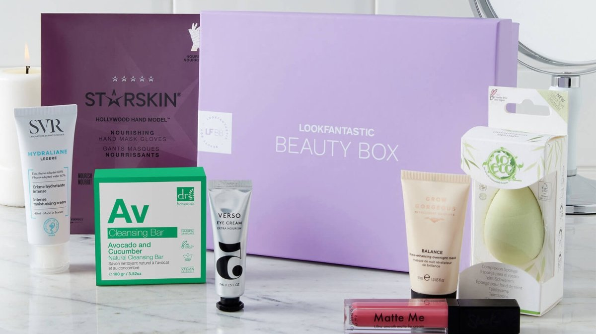 What's Inside Our First LOOKFANTASTIC Beauty Box of 2021