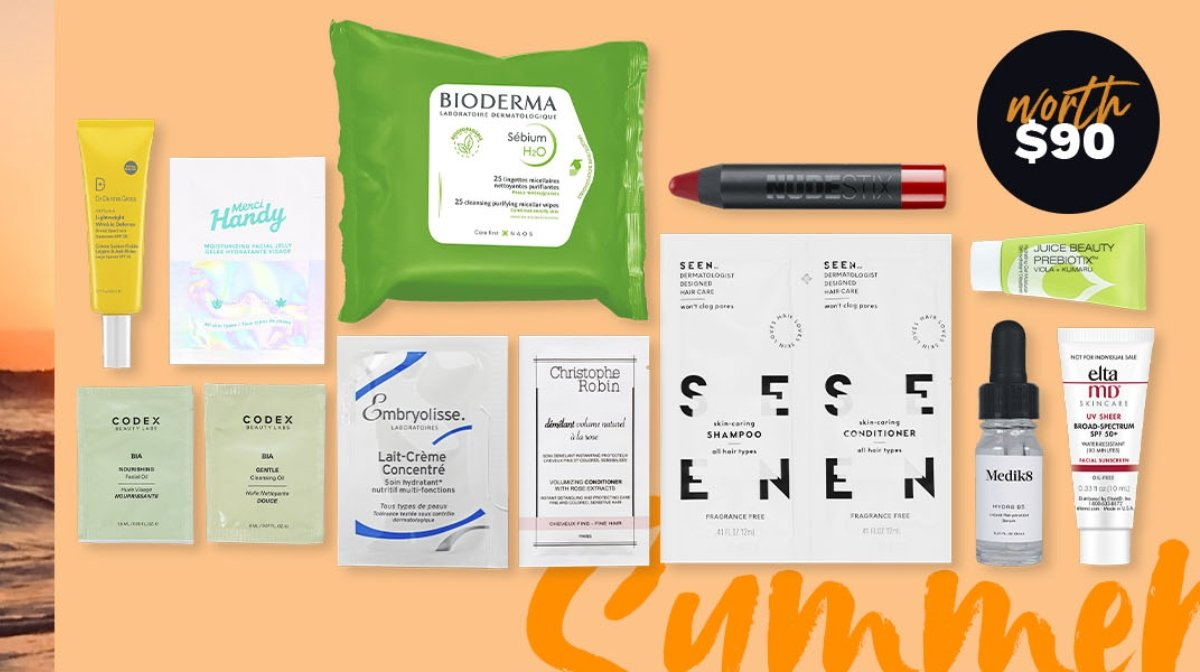 Soak Up This Month's Beauty Bag