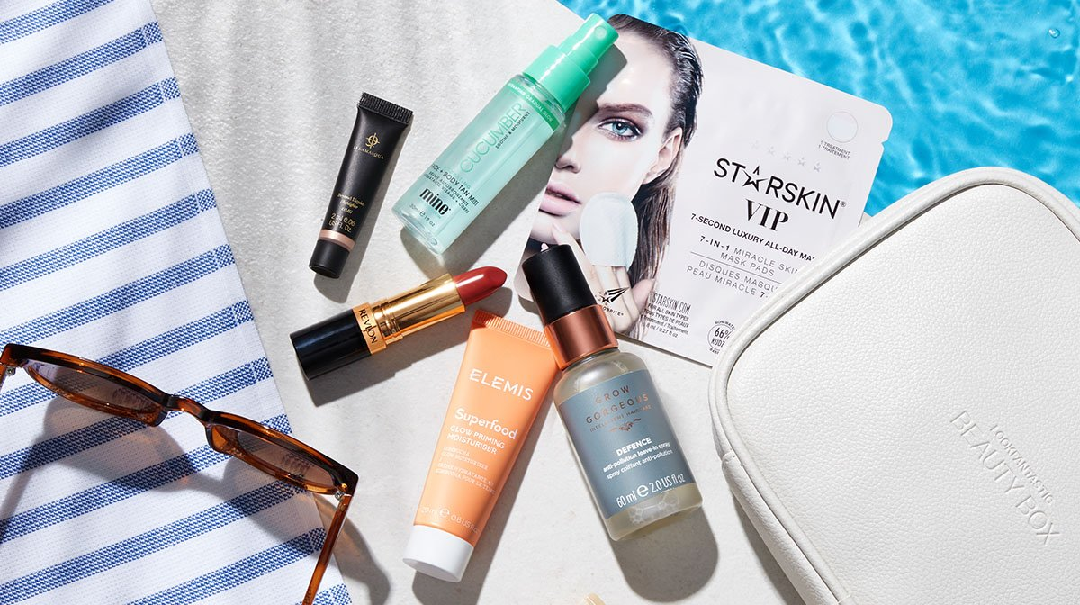 The Story of Our Beauty Box: July 'Wanderlust' Edition