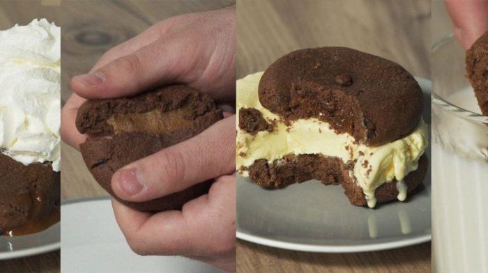 Découvrez 4 manières de déguster nos Cookies fourrés hyperprotéinés