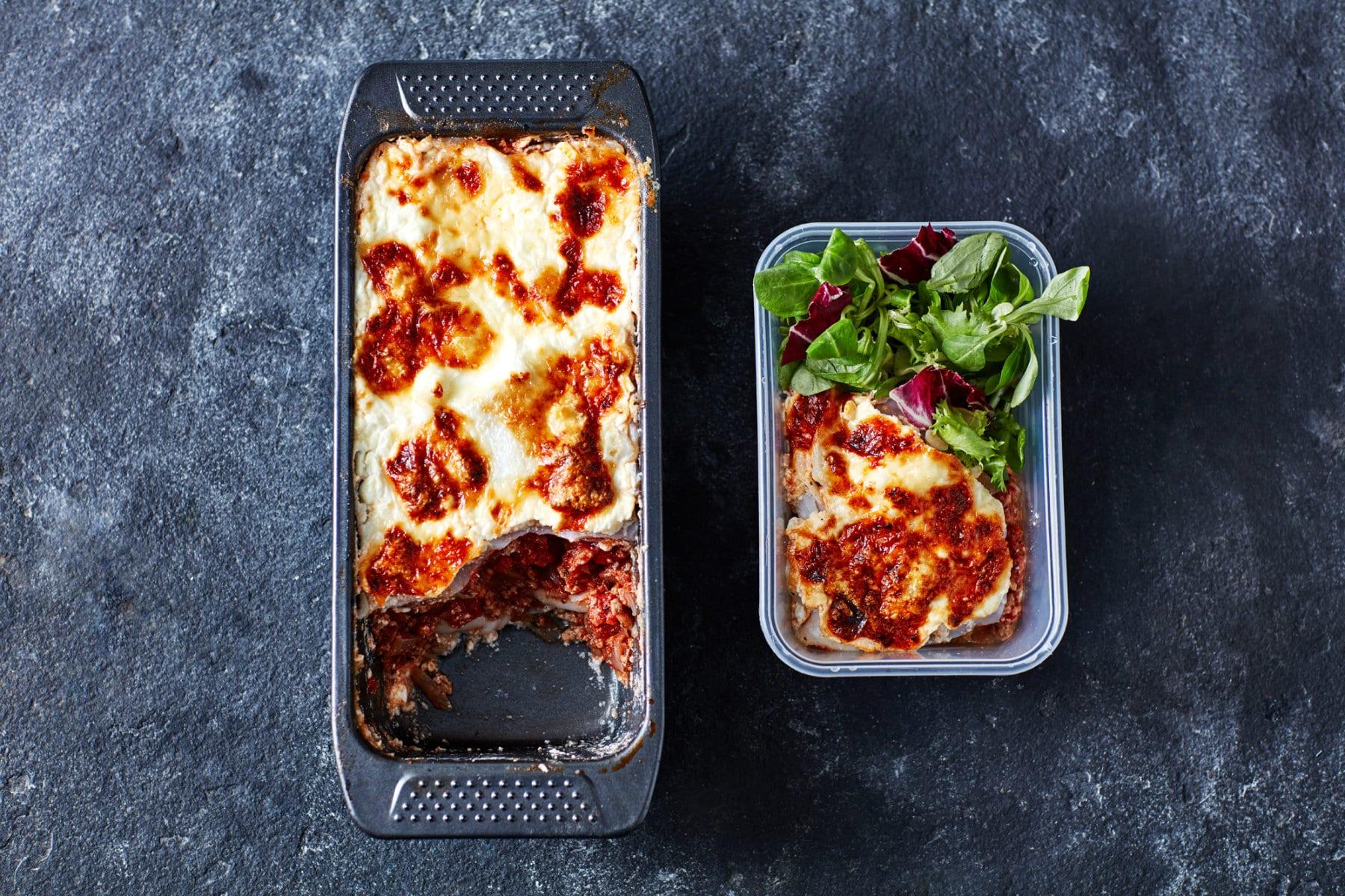 plat de lasagnes healthy