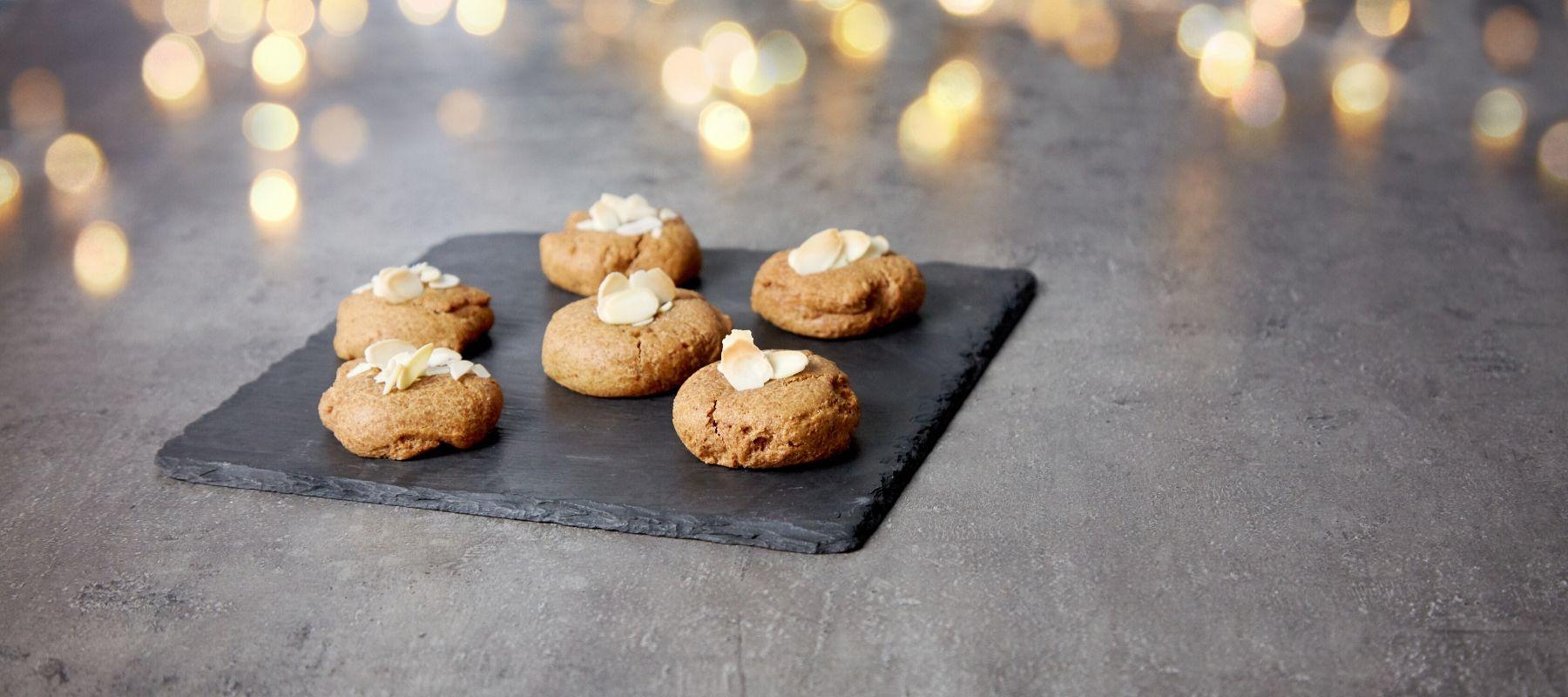 Recette de cookies hyperprotéinés à la cannelle