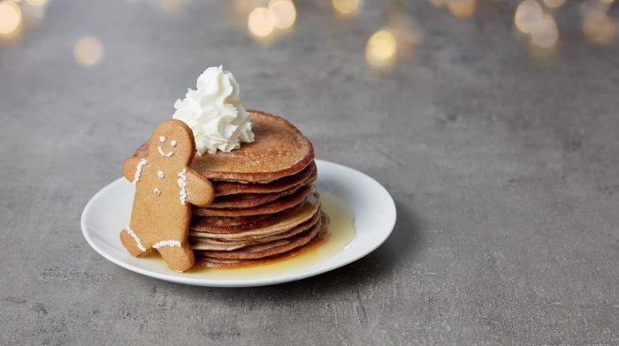 Pancakes protéinés saveur pain d'épice