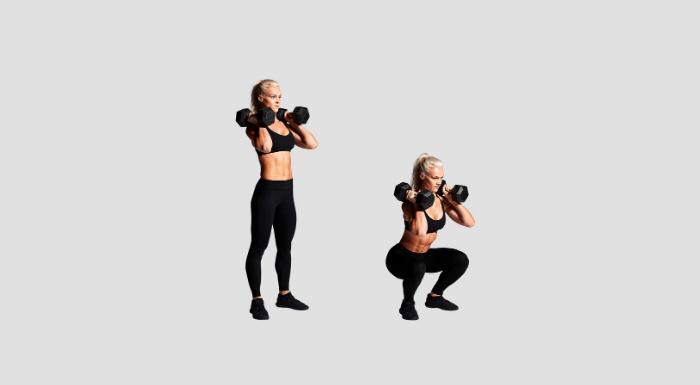squat haltere
