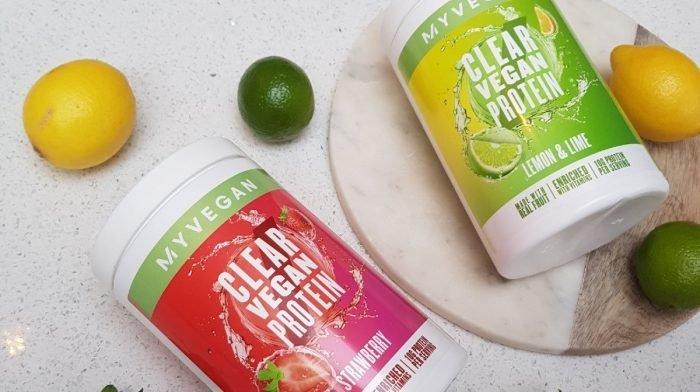 Goûtez notre nouvelle boisson vitaminée à base de plantes et de fruits - Clear Vegan Protein