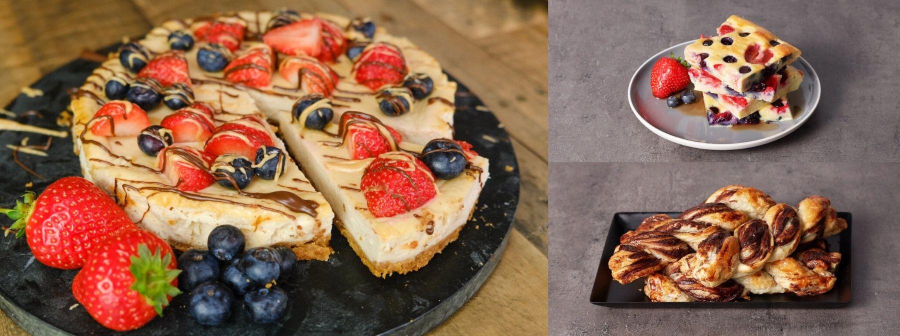 Idées de recettes Saint-Valentin : petits-déjeuners et desserts healthy