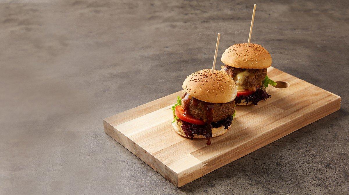 burger mozzarella