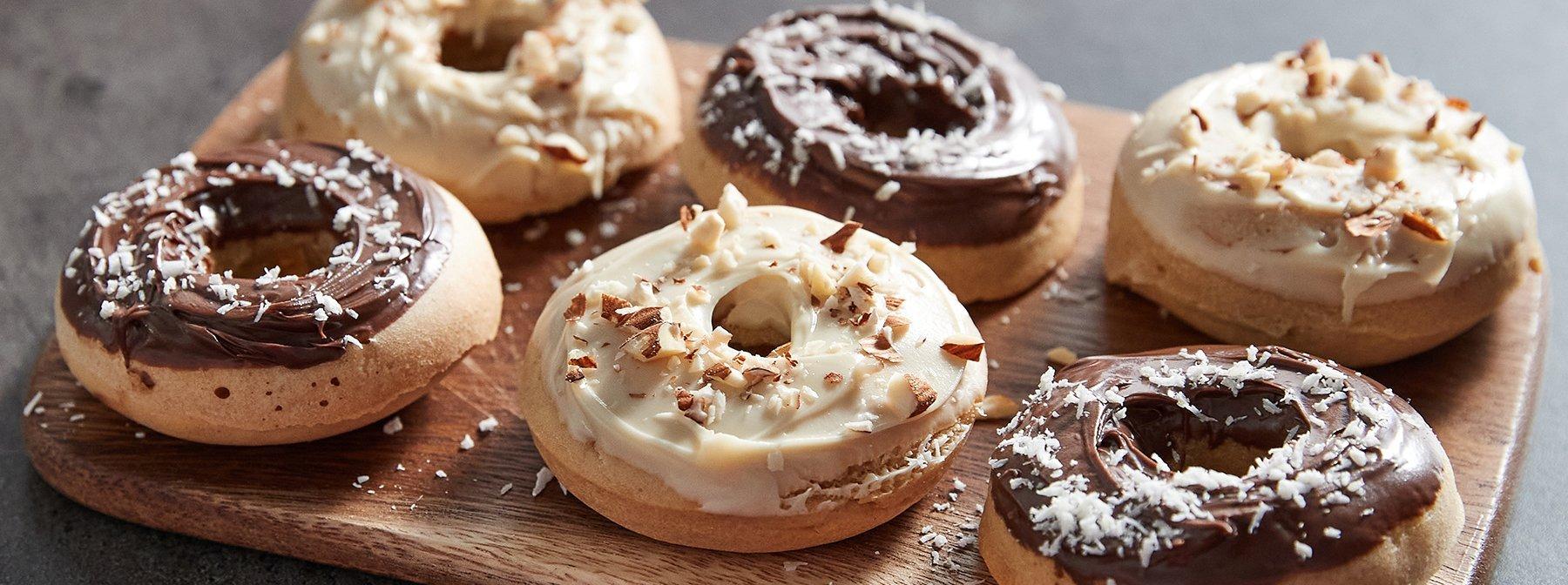 Donuts healthy protéinés