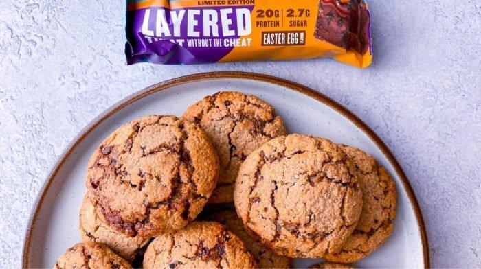 Cookies protéinés de Pâques