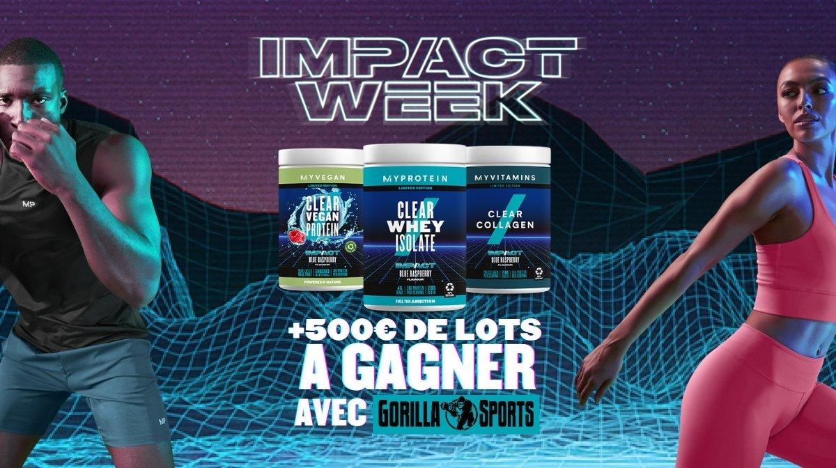 Impact Week | Réductions exclusives, prix et concours
