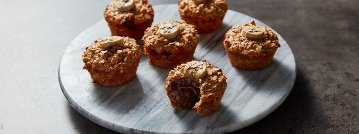 Muffins au banana bread