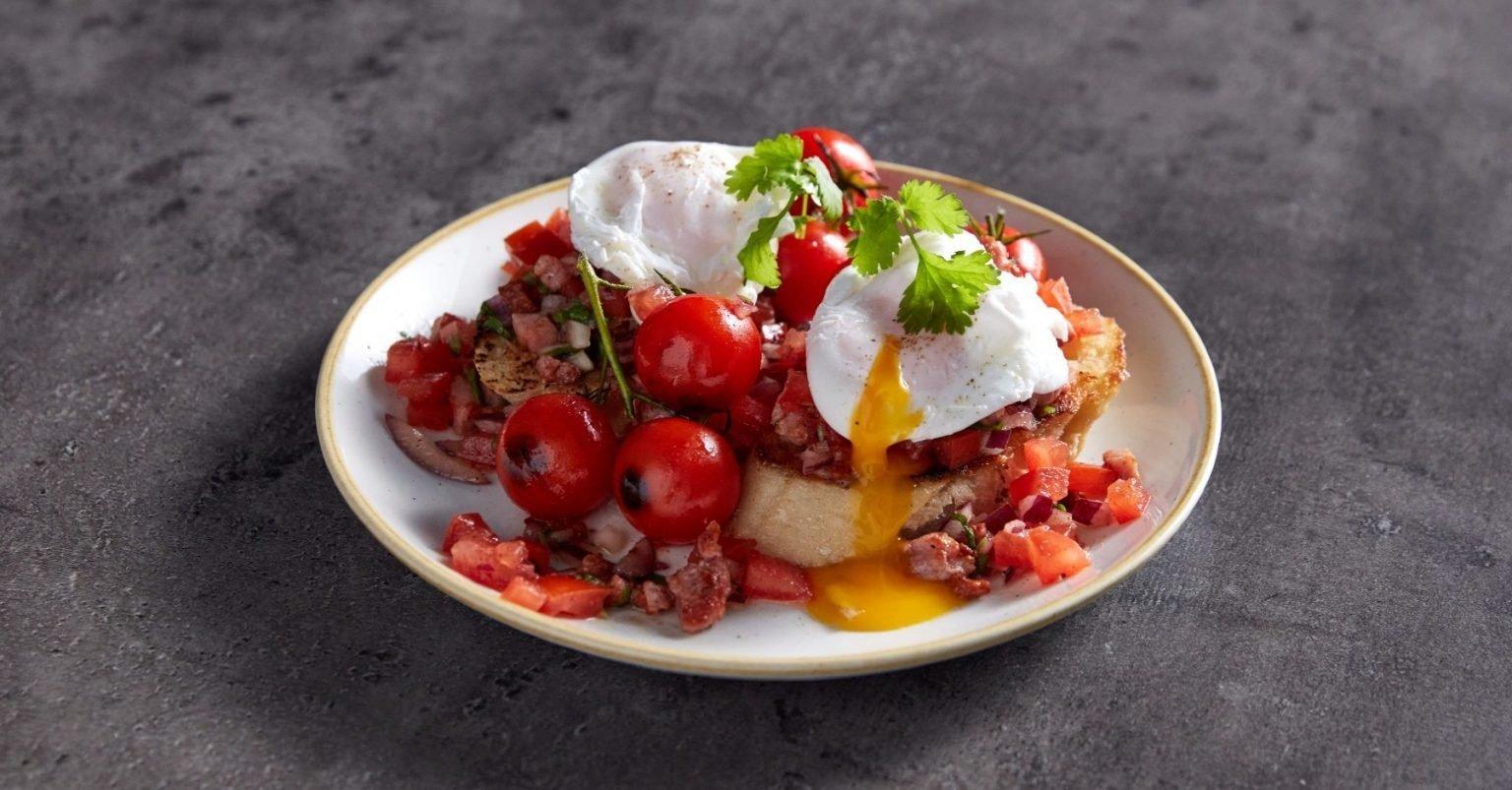 Bruschetta protéinée pour le petit déjeuner