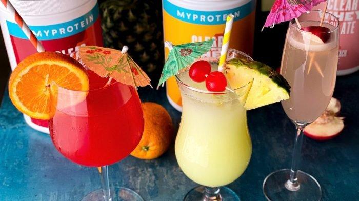 Mocktails à la Clear Whey Isolate | 3 idées délicieuses