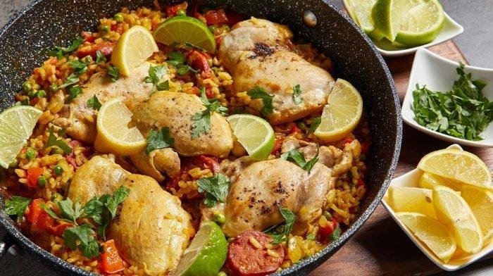 Paëlla poulet & chorizo