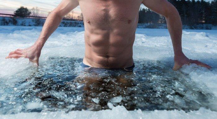 bain glacé