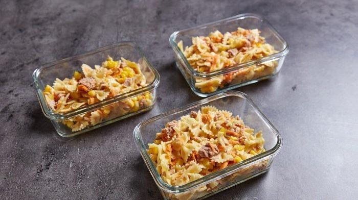 Salade de pâtes facile en meal prep