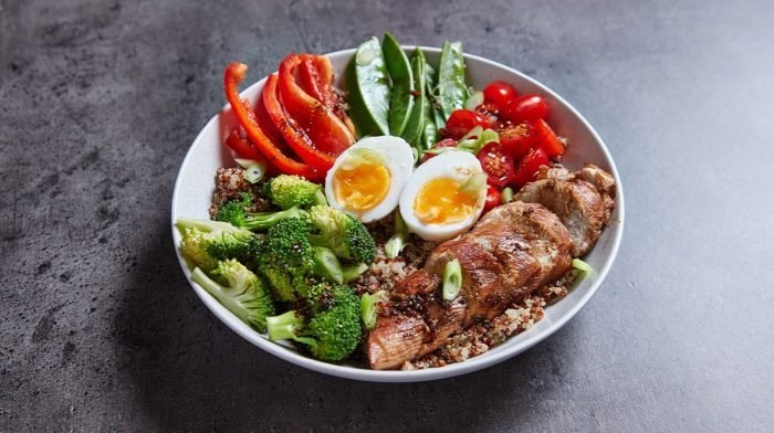 Meal prep protein bowl facile