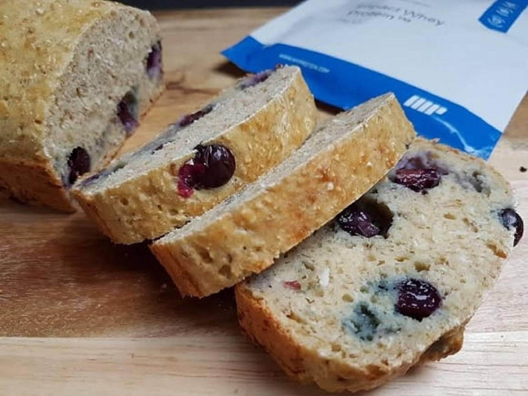 Gesund Backen | Fruchtiger Blaubeer-Kokos Kuchen