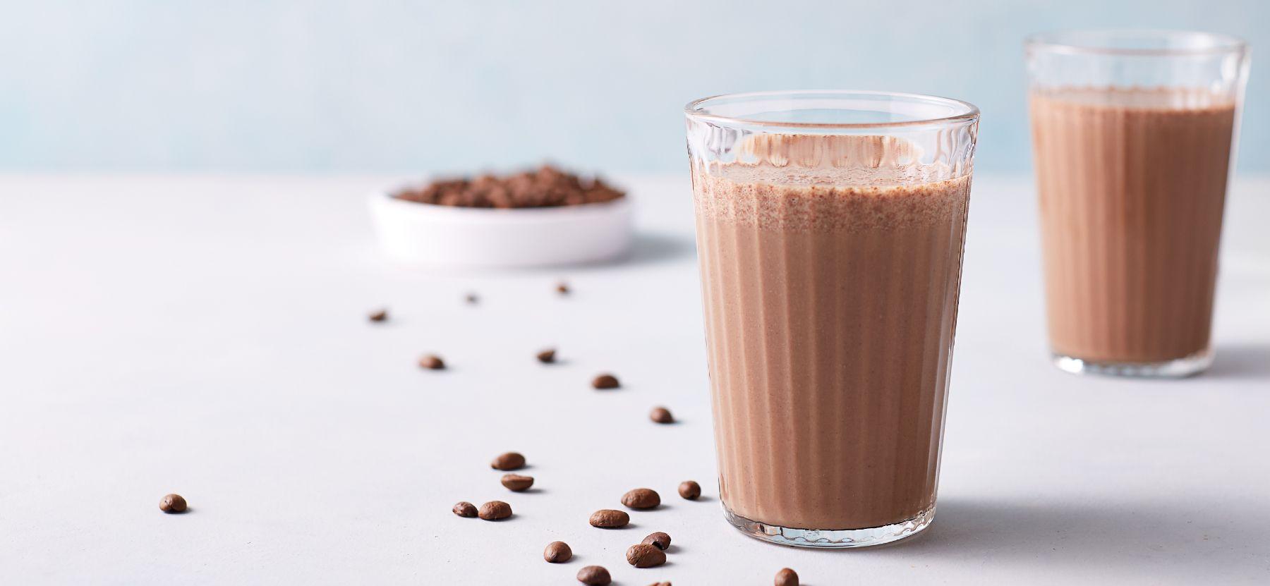 Kaffee & Kakao Frühstücks Protein Smoothie
