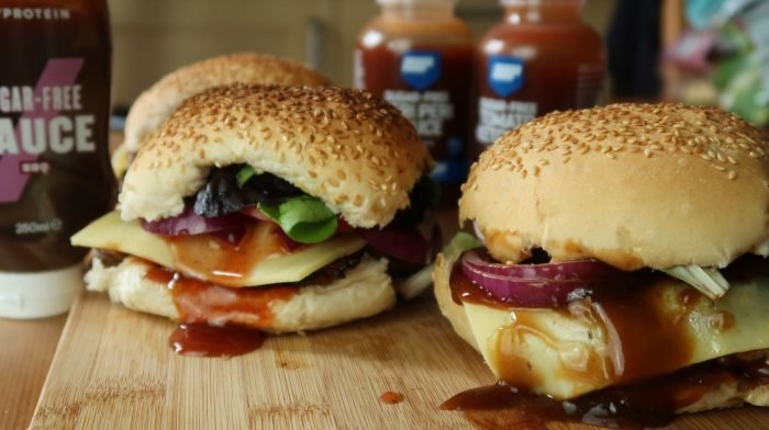 Sommerliche BBQ Chicken Burger | Schnell & Einfach