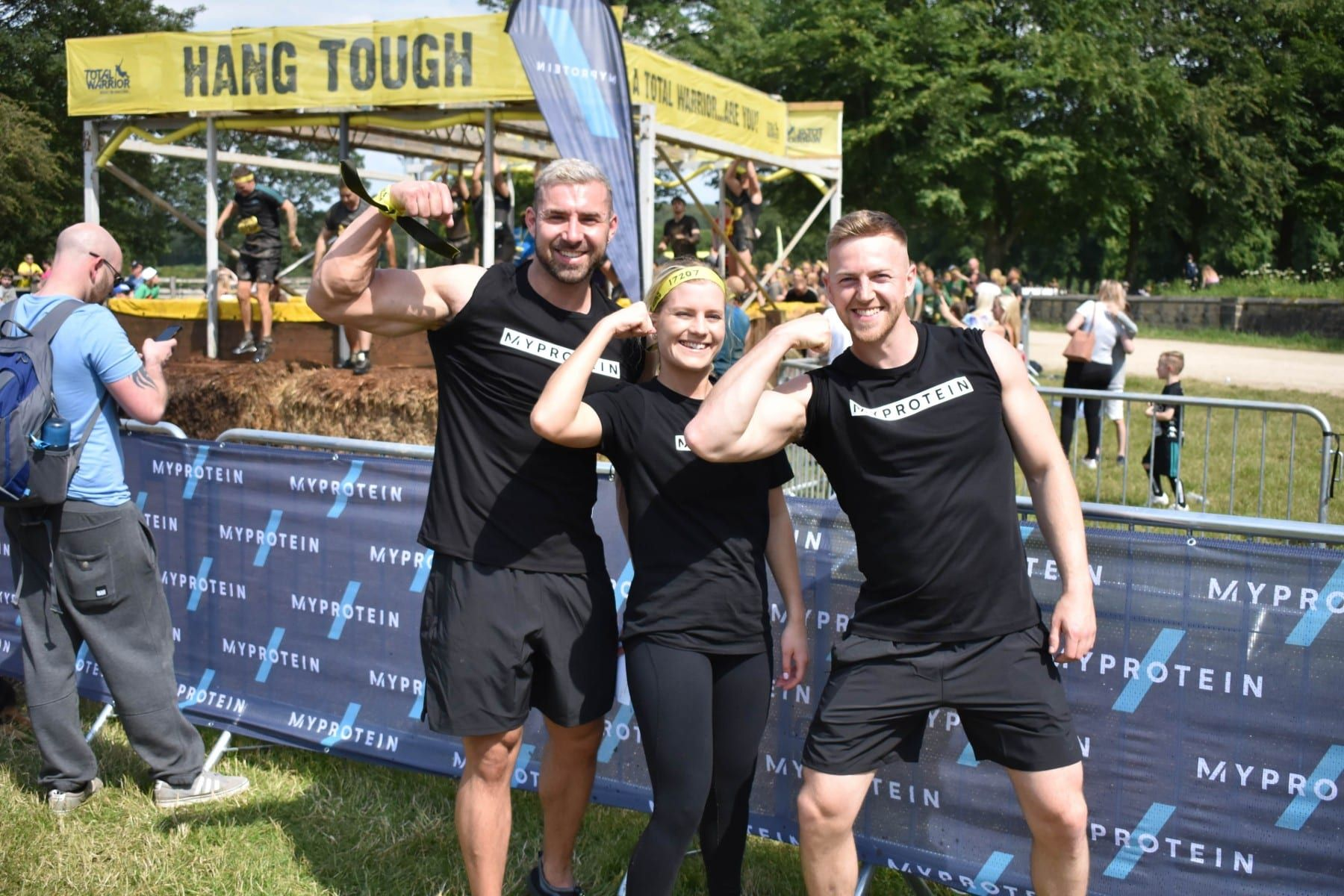 Ich habe den Total Warrior Obstacle Course absolviert… Und dies ist dabei passiert