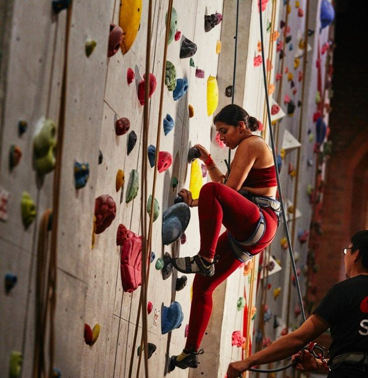 Halbzeit | Kiran's Kletter Challenge Fortschritte