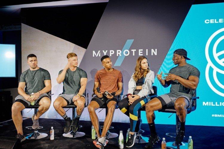 So feiert Myprotein | 8 Millionen Stark