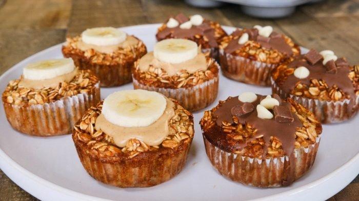 Gebackene Hafer Muffins | Frühstücksidee für deine Meal Prep