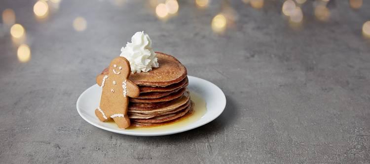 Protein Pancakes mit Lebkuchengeschmack