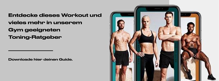 Stelle dich diesem Unterkörper Workout zur Muskelstraffung