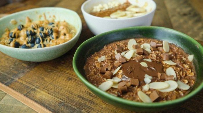 Protein Porridge Dreierlei | Einfache Frühstücksideen