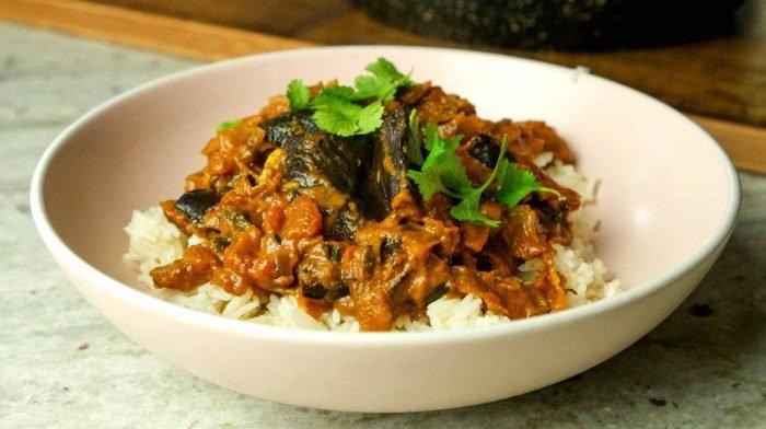 Veganes Auberginen Masala | Schnelle & Einfache Ideen fürs Abendessen