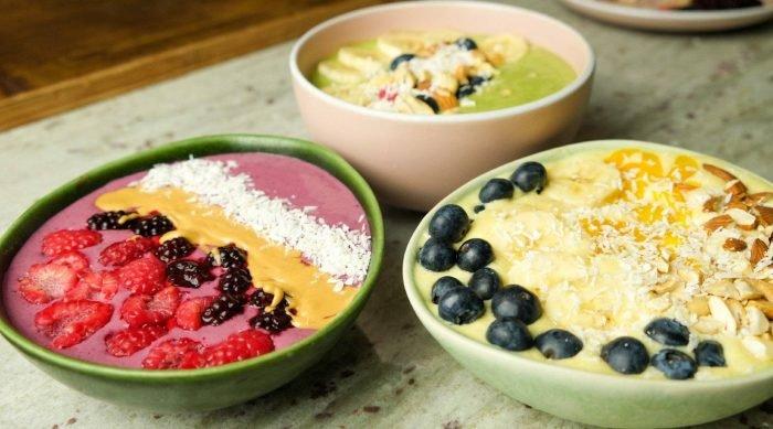 3 Smoothie Bowl Varianten für einen Vitaminschub | Proteinreiches Frühstück