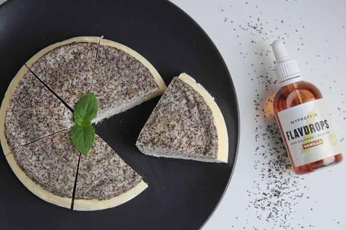 Käsekuchen mit Mohn | Probiere dieses Cheesecake Rezept