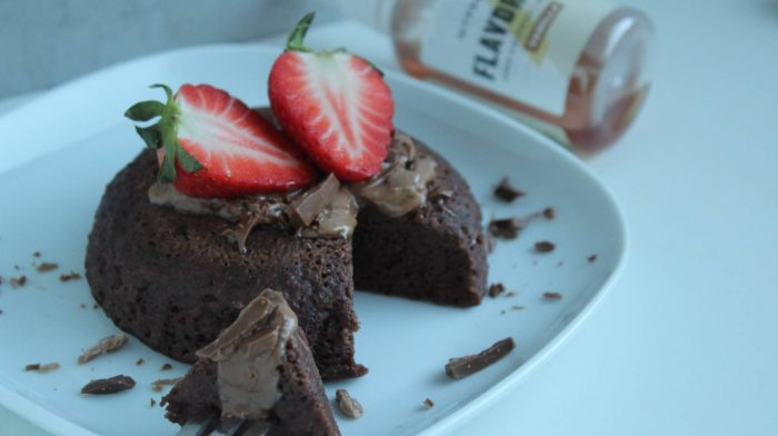 Brownie-Tassenkuchen zum Selbermachen