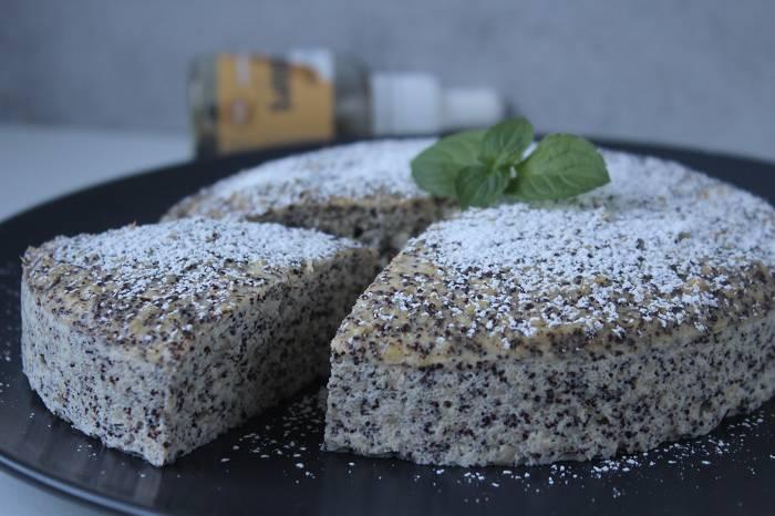Saftiger Mohnkuchen | Protein Dessert