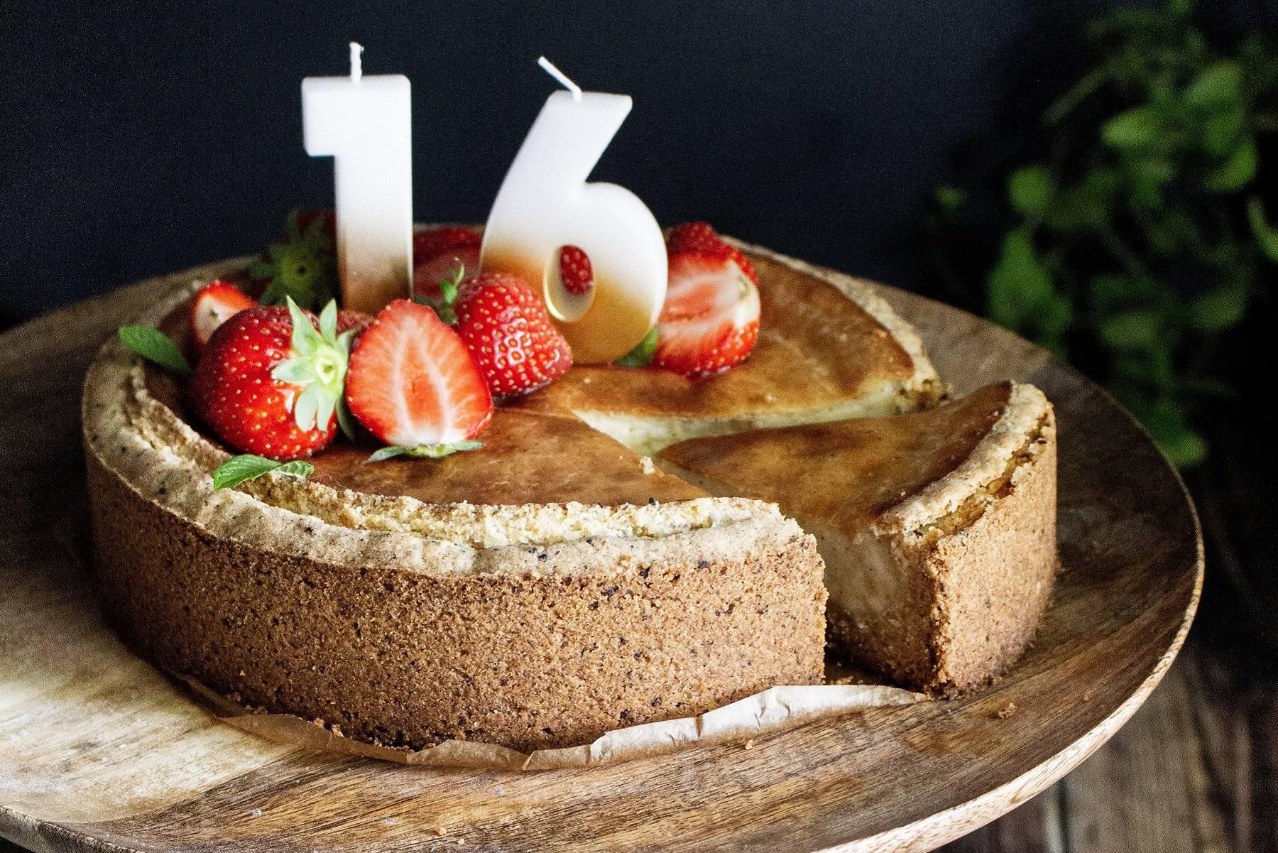 Erdbeer-Käsekuchen | Happy Birthday Myprotein