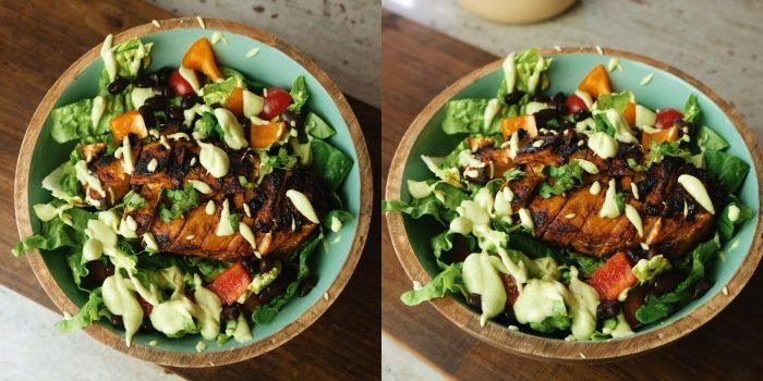 Chipotle Hähnchensalat   Sommer Meal Prep