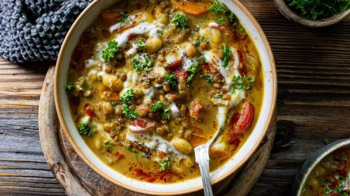 Linsen Kokos Curry | Mittagessen Meal Prep