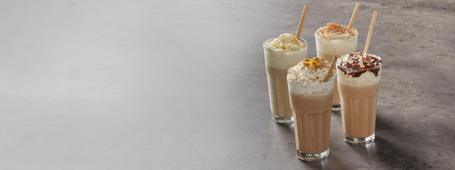 Eiskaffee Protein Shakes | 4 Variationen