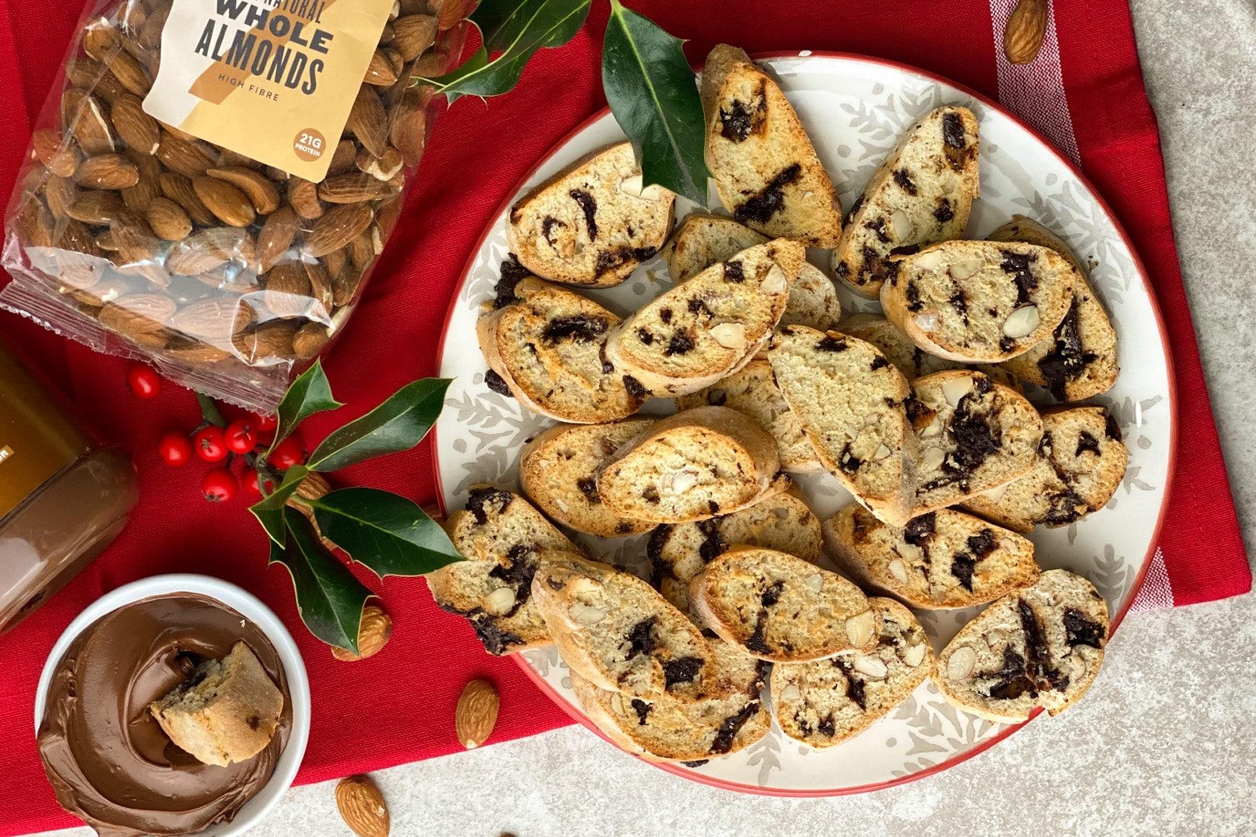 5 Zutaten Weihnachts-Biscotti