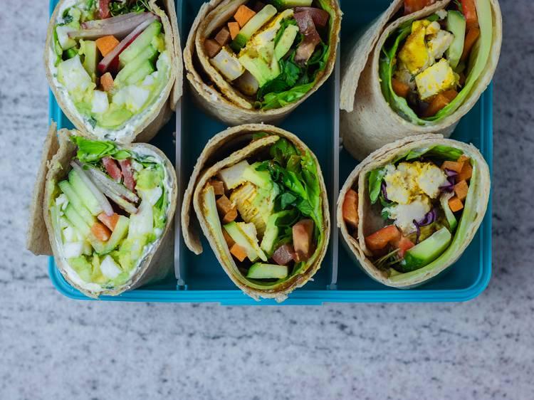 3 Wraps zum Mitnehmen   Meal Prep für unterwegs